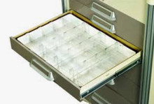 Drawer Divided Kit, 16 Dividers