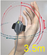 STIMPOD NMBA Cable w/Accelerometer, 3.5 Meter Length