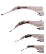 Disposable Fiber Optic GL Laryngoscope Blades, Sunmed