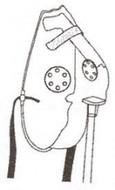 Elongated See-thru Mask, Medium Oxygen Concentration