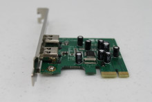Shown here is the F Series PCle Interface Card, p/n 100-FW/PCle.