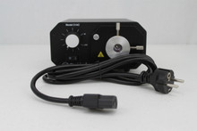 230V Fiber Optic Light Source (p/n 100-05-LS-230) with included power cable.