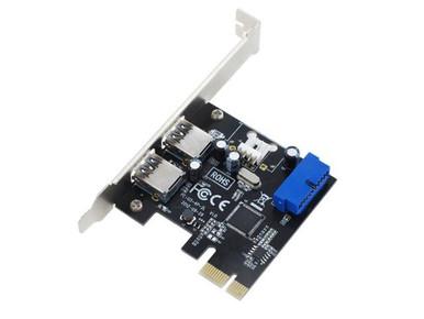 Full Height, p/n 100-USB3/PCIe-FH