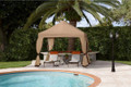 Fiberbuilt 10 x 10 Classic Pop Up Gazebo w/ Sunbrella Top