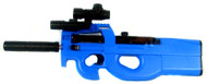 Well D90H Fully automatic BB gun P90 replica In blue