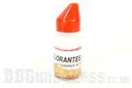 painball 6mm pellets 200 x bottle in red