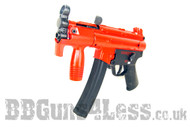 Galaxy G5K Tactical Full Metal Gearbox AEG Rifle in red