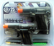 Colt 25 Replica pistol in twin pack