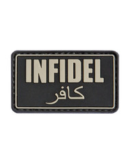 Tactical Patch Infidel Patch in Black