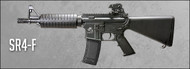 SRC SR4-F DRAGON CQB M4 AEG in Black