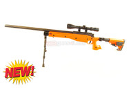 Well MB14 MK96 Airsoft Sniper Rifle in orange