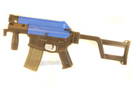 ARES Amoeba CCC M4 Airsoft Gun in Blue
