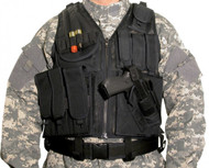Swiss Arms Tactical Vest with Belt & Pistol Holder