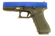 WE E17 GEN 3 GBB Glock in blue