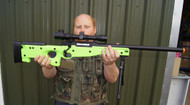 Double Eagle M59 L96 replica Sniper rifle in green