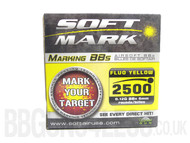 2500 Soft Mark fluo 0.12g bb pellets in box