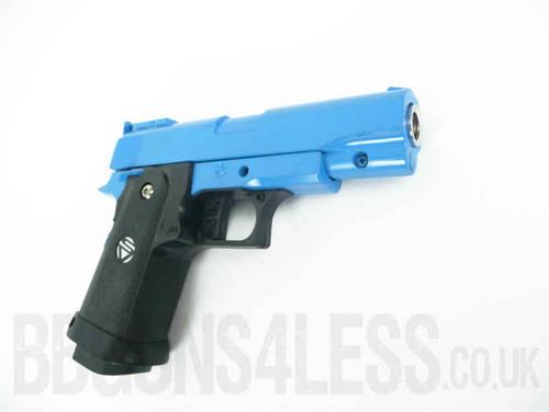 G10 Full Metal Pistol Airsoft Gun In Blue