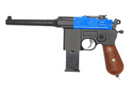 Galaxy G12 Mauser Replica Pistol In Blue