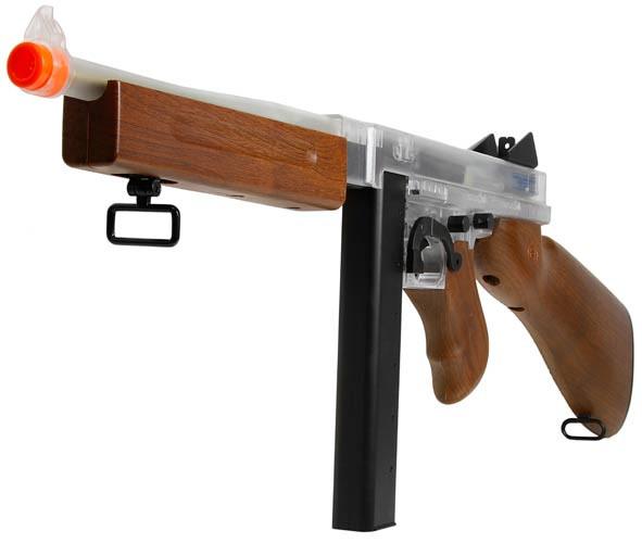 Blackviper Thompson M1A1 AEG BB Gun With Stick Mag