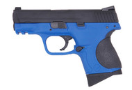 WE 3.8MP Little Bird GBB Pistol In Blue
