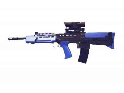 HFC L85 SA80 Airsoft Rifle In Blue