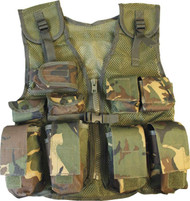 Kids Tactical Assault Vest in DMP Camo