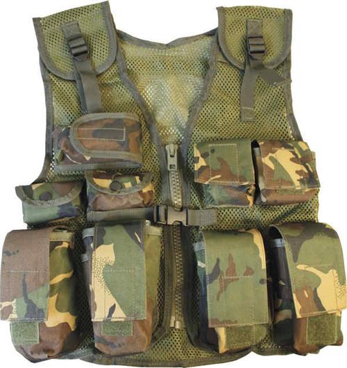 Kids Tactical Assault Vest in DMP Camo