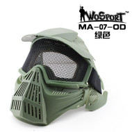 Wo Sport Tactical Gear Mesh Full Face Mask OD