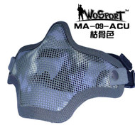 Wo Sport V1 Strike Steel Half Face Mask (Two Belt Version) ACU