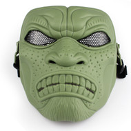 BV Tactical Desert Army Group Mask V6 (Round Mesh) OD