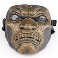 BV Tactical Desert Army Group Mask V6 (Round Mesh) Bronze