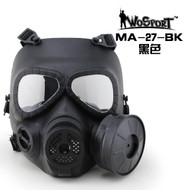 Wo Sport V4 Avengers Cosplay Toxic Gas M04 Mask w/ Fan Black