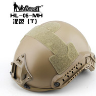 Wo Sport FAST Helmet-MH Type (Without Hole) Tan