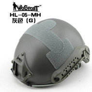 Wo Sport FAST Helmet-MH Type (Without Hole) Grey