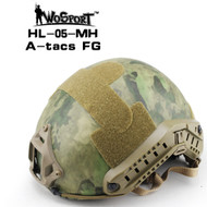 Wo Sport FAST Helmet-MH Type (Without Hole) A-tacs FG