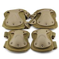 BV Tactical Safety Elbow & Knee Pad Set V3 Tan