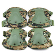 BV Tactical Safety Elbow & Knee Pad Set V3 D-woodland