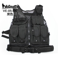 KINGRIN Mesh Vest Black