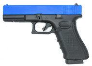 Well G197 Co2/GAS GBB Full Metal Pistol (blue)