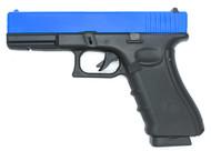 Well G197 Co2/GAS GBB Full Metal Pistol (blue)