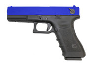 WE E18 GEN 4 GBB Glock in blue