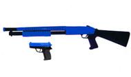 Cyma P799 Shotgun with pistol in Blue