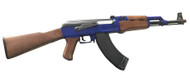 Cyma ZM93 AK47G with Full Stock in Blue