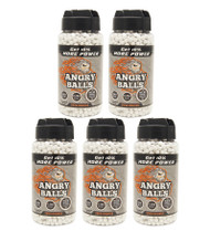 Angry Ball BB Pellets 10,000 X 0.20 in white