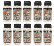 Angry Ball BB Pellets 20,000 X 0.20 in white