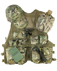 Kids Adventure Tactical Vest Set in BTP