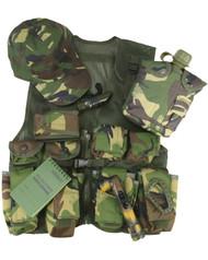 Kids Adventure Tactical Vest Set in Dpm