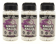 Angry Ball BB Pellets 6000 X 0.25 in white