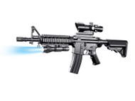 Vigor M4 RIS Rail Spring Rifle in Blue (8907A)