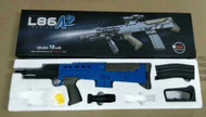 Vigor L86A1 SA80 replica bb gun rifle in blue